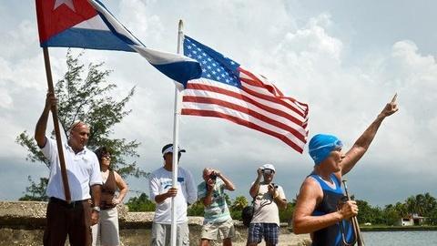 PBS NewsHour -- Nyad Ends Marathon Cuba-Florida Swim, Endures Storms