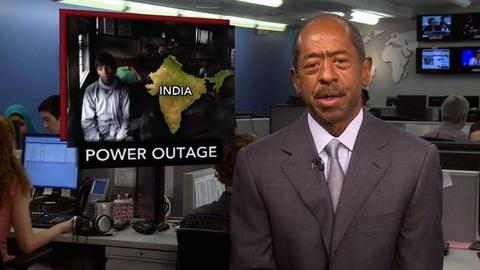 PBS NewsHour -- News Wrap: Northern India in the Dark after Power Grid Fails