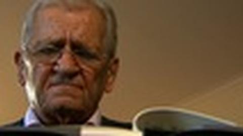 PBS NewsHour -- Greek Poet Titos Patrikios Reads 'Lionsgate'