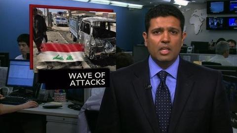 PBS NewsHour -- News Wrap: Iraq Attacks Kill at Least 46