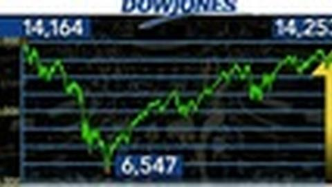 PBS NewsHour -- Dow Jones Industrial Average Closes at All-Time High