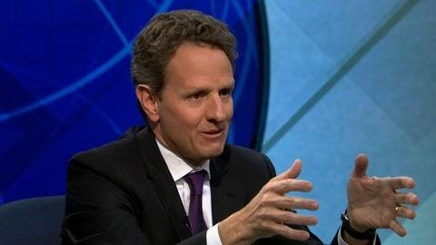 PBS NewsHour -- Geithner on Potential Deficit Deal: 'We're Closer Than...