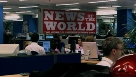 PBS NewsHour -- Scandal Prompts Murdock's News of the World to Stop Its...