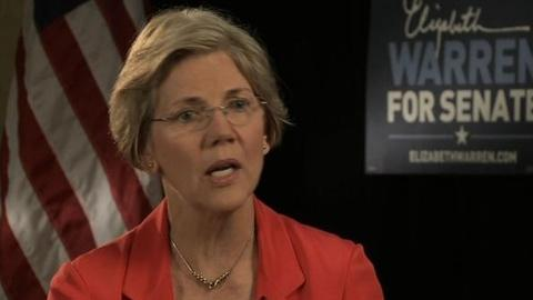 PBS NewsHour -- Elizabeth Warren Asks, 'Who Are You Fighting For?'