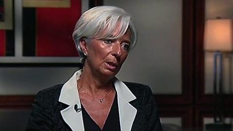 PBS NewsHour -- Christine Lagarde on Avoiding the 'Fiscal Cliff'