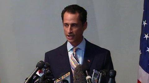 PBS NewsHour -- Weiner Says He's Resigning, Apologizes for Scandal