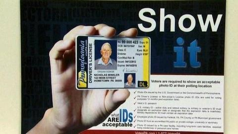 PBS NewsHour -- Pa. Judge Rules Voter ID Law Effective Year After Election