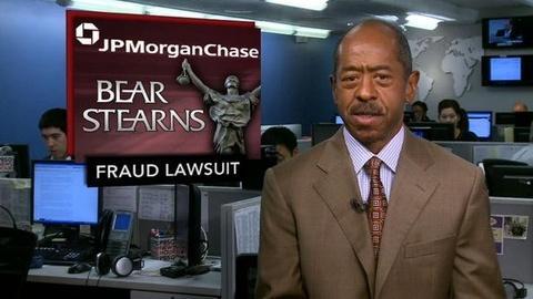 PBS NewsHour -- News Wrap: New York Files Lawsuit Against JPMorgan Chase