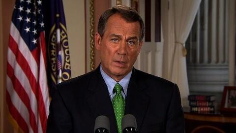 PBS NewsHour -- Boehner: Obama's Not Getting a Blank Check