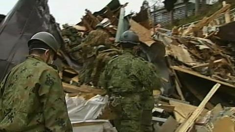 PBS NewsHour -- In Japan, Navigating the 'World's Biggest Rubble Problem'