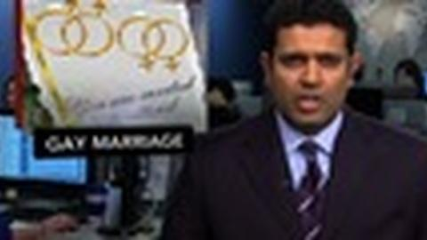 PBS NewsHour -- News Wrap: Pres. Obama to Take on Gay Marriage Bans
