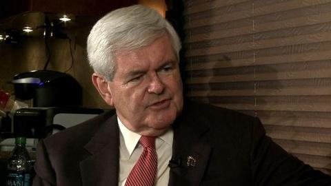 PBS NewsHour -- Gingrich to NewsHour: I Have Momentum to Beat 'Liberal'...