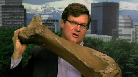 PBS NewsHour -- Mammoth Amount of Ice Age Fossils Found in Colorado