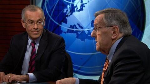 PBS NewsHour -- Shields and Brooks on Polls, Biden and Ryan Debate Style