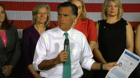 PBS NewsHour -- For Romney and Obama, it's Day 1 of General Election
