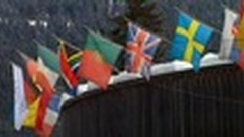 PBS NewsHour -- At World Economic Forum, Talk of Future of European Union