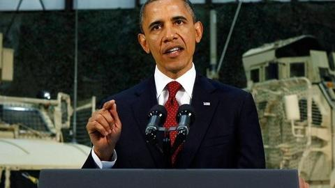 PBS NewsHour -- Obama's Address: 'Not a Mission Accomplished Speech'