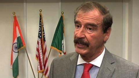 PBS NewsHour -- Mexico's Vicente Fox: Legalize Drugs to Weaken Cartels