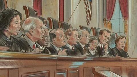 PBS NewsHour -- Supreme Court Hears Wal-Mart Gender Bias Discrimination Case