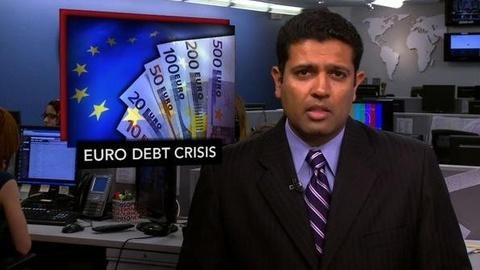 PBS NewsHour -- News Wrap: European Central Bank Buys Bonds to Down Rates