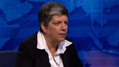 PBS NewsHour -- Napolitano: 'Heightened State of Alert' Continues After...