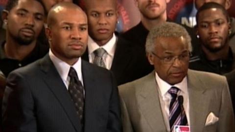 PBS NewsHour -- NBA Labor Battle Continues, Threatening Entire Season