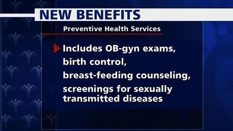 PBS NewsHour -- ACA Benefits Begin, Including Women's Preventative Care