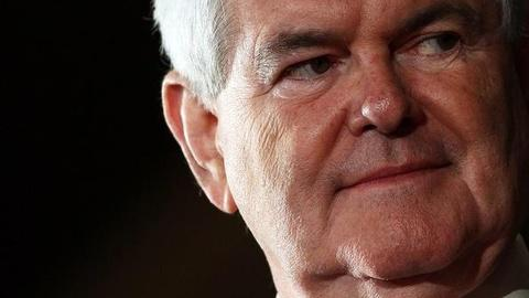 PBS NewsHour -- Gingrich Eyes Brokered Convention