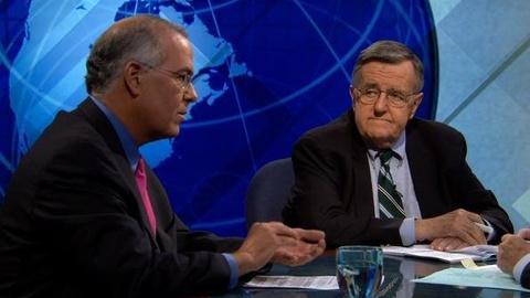 PBS NewsHour -- Shields, Brooks on 'High Bar' for Obama's Jobs Speech,...