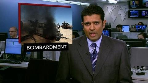 PBS NewsHour -- News Wrap: U.S. Probes Deadly Friendly Fire Drone Attack...