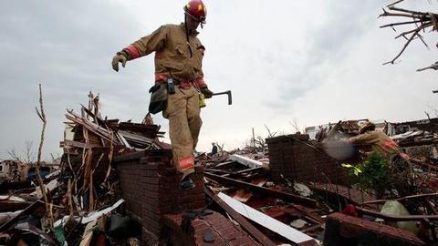 PBS NewsHour -- Search, Rescue Ongoing in Joplin's 'Concentrated' Area of...