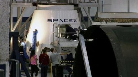 PBS NewsHour -- SpaceX Boldly Looks to Blast 'Millions of People to Mars'