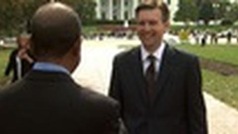 PBS NewsHour -- White House spokesman says Obama will be ready for debate