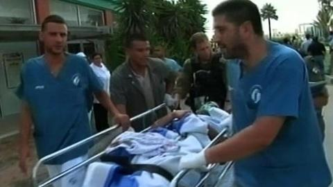 PBS NewsHour -- Bus Attack, Military Retaliation Rock Southern Israel, Gaza