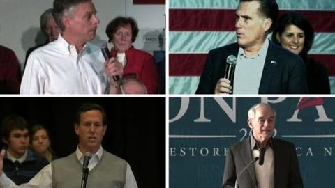 PBS NewsHour -- GOP Presidential Hopefuls Scout S.C., Prep N.H. for...