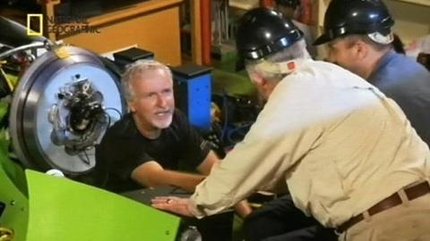 PBS NewsHour -- James Cameron Descends 7 Miles Into Mariana Trench