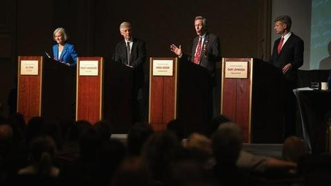 PBS NewsHour -- Alternative Presidential Candidates Face Off in Debate