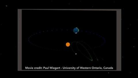 PBS NewsHour -- Asteroid Is a Dance Partner for Planet Earth