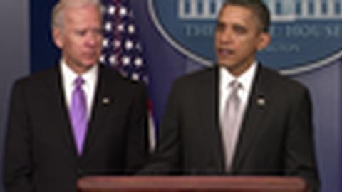 PBS NewsHour -- President Obama Declares Gun Control a 'Central Issue'