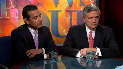 PBS NewsHour -- Villaraigosa: Washington Must Be Smart About Cuts,...