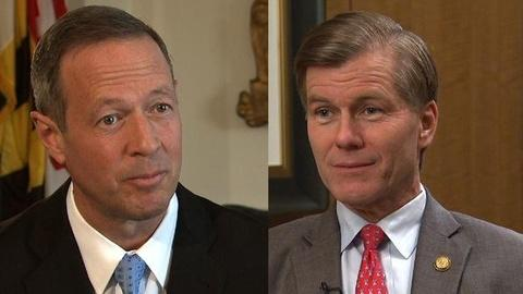 PBS NewsHour -- Governors McDonnell and O'Malley: Contrasting Visions