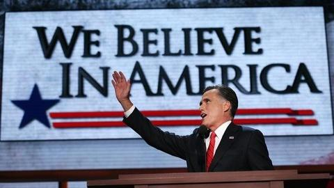 PBS NewsHour -- Romney Accepts Presidential Nomination, Addresses RNC
