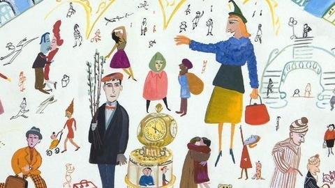 PBS NewsHour -- Artist Maira Kalman Makes Sense of a Crazy World