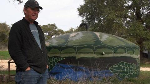 PBS NewsHour -- 'Cloud Juice' is One Man's Solution to the Texas Drought
