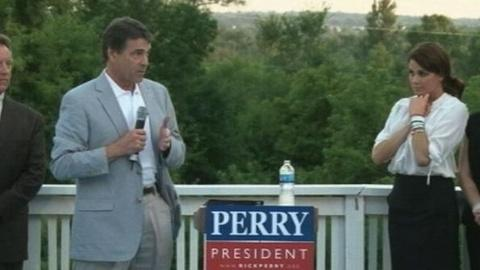 PBS NewsHour -- 'Tough Guy' Rick Perry Makes Waves on Republican Campaign...