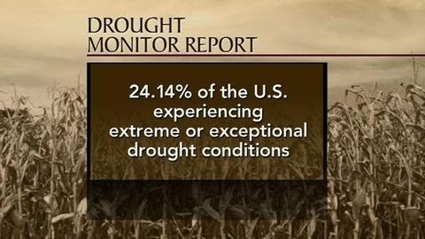 PBS NewsHour -- U.S. Plagued by Drought, Bleak Expectations for Crops