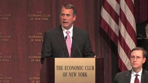 PBS NewsHour -- Debt Debate Heats Up in Washington as Borrowing Limit Looms