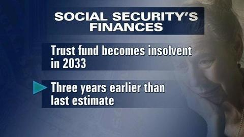 PBS NewsHour -- Social Security Slated to Run Dry in 2033, Trustees Warn