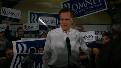 PBS NewsHour -- Romney on Defense Before New Hampshire Vote as GOP...