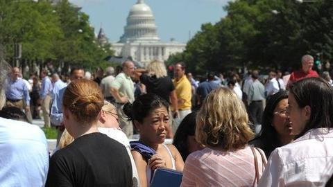 PBS NewsHour -- More Than 12 Million May Have Felt Unusual East Coast...